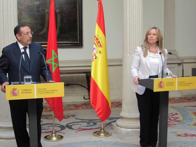 Youssef Amrani et Trinidad Jiménez