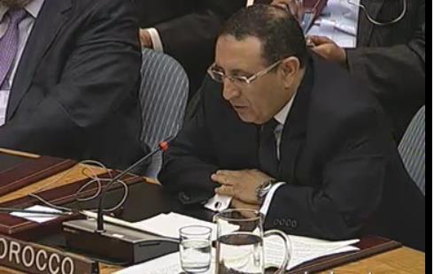 M. Amrani participe à la réunion du Conseil de Sécurité sur les menaces à la paix et à la sécurité internationale causées par des actes terroristes