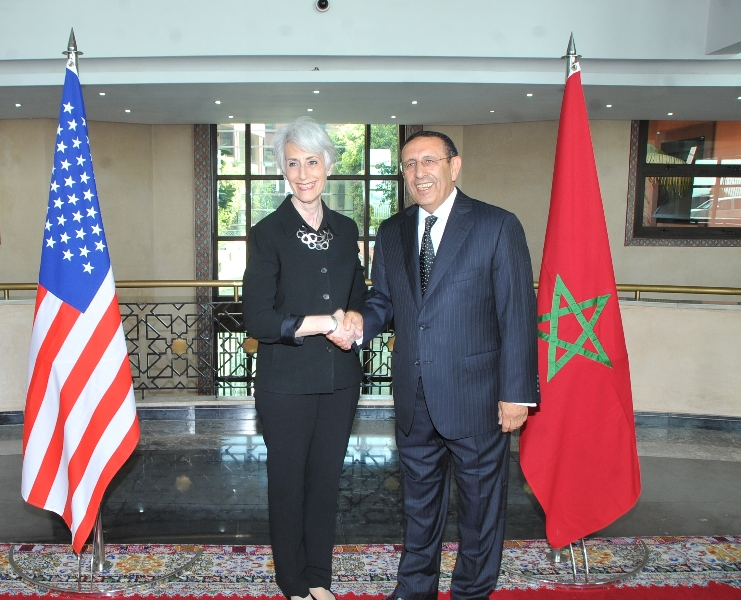 Visite de Mme Wendy Sherman, Secrétaire d'Etat adjoint au Département d'Etat américain chargé des Affaires Politiques.