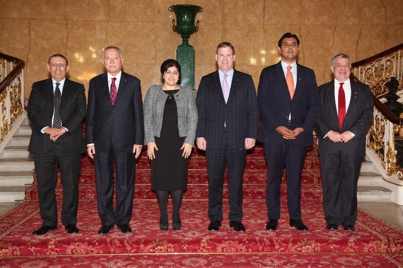 M. Amrani participe à la Conférence sur la tolérance et le dialogue interreligieux, organisée à Londres
