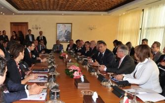 Entretien de M. Amrani avec une délégation de la Commission européenne chargée de l'Industrie et de l'entrepreneuriat
