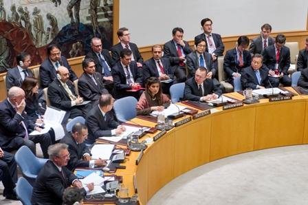M.Amrani participe à une réunion de haut niveau du Conseil de sécurité de l\'ONU sur la lutte contre le terrorisme.