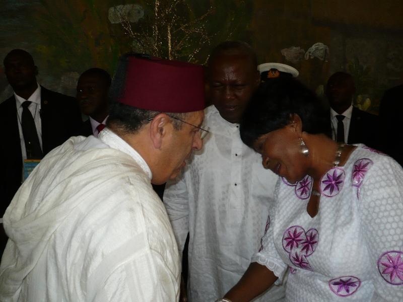 M. Amrani représente le Maroc à la cérémonie d'investiture du Président élu du Ghana