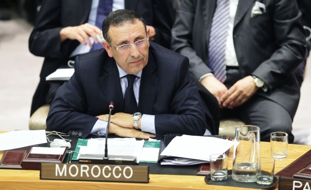 Participation de M. Amrani à la réunion du Conseil de Sécurité sur la Syrie