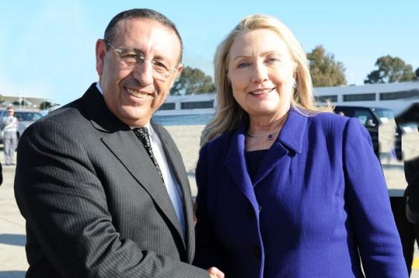 Visite de La Secrétaire d'Etat Américaine, Hillary Clinton