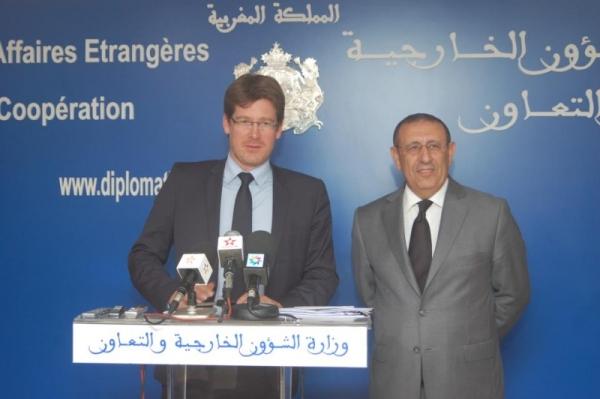 Visite du Ministre Délégué Français chargé du Développement,M. Pascal Canfin.