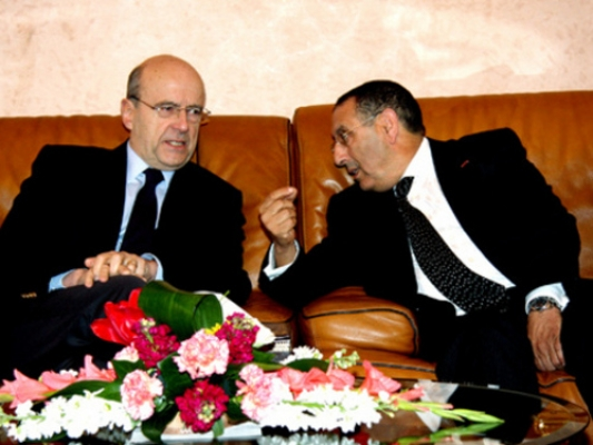 Youssef Amrani avec Alain Juppe