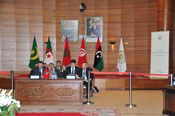 31ème session des ministres des Affaires étrangères de l\'UMA à Rabat