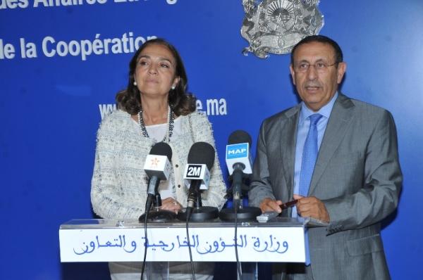 M. Youssef AMRANI s'entretient avec le Secrétaire d'Etat à la Recherche, au Développement et à l'Innovation de l'Espagne, Mme Carmen Vela Olmo